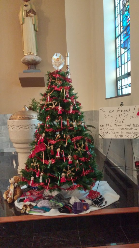 Angel Tree of Warmth 2016