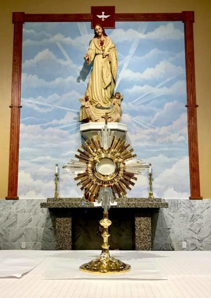 Eucharistic Adoration video with Deacon Tim Chriswell