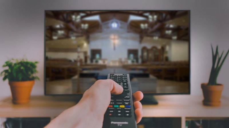 Live-stream liturgies on the internet
