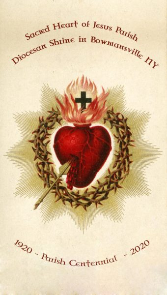 Sacred Heart of Jesus feast – Centennial Year.