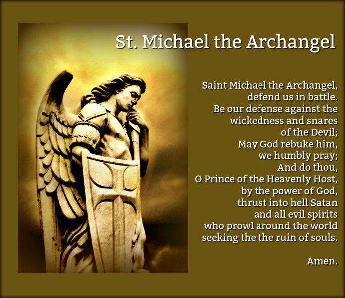 Prayer to Saint Michael