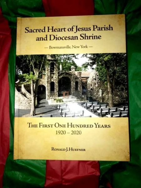"LOOKING FOR A CHRISTMAS GIFT!  ""The 100-year History of Sacred Heart of Jesus Parish""."