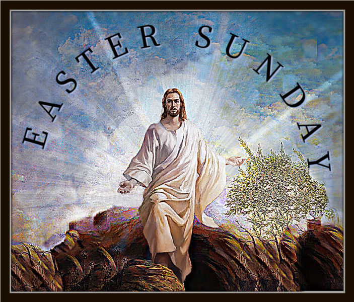 EASTER SUNDAY MASSES, April 4th