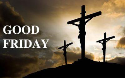 Good Friday, April 2nd