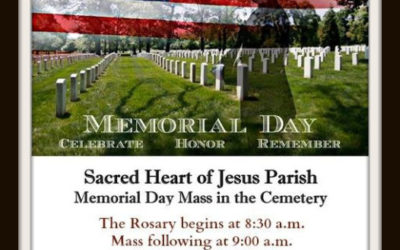 Memorial Day Mass in the Cemetary