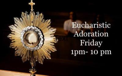 Eucharist Adoration-1st Friday