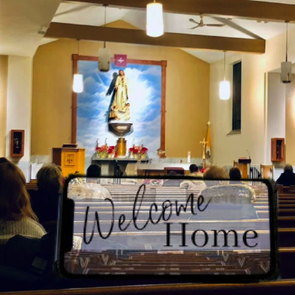JOIN OUR PARISH Welcome!!